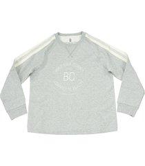 brunello cucinelli cotton sweatshirt with print
