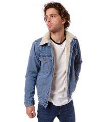 campera azul vov jeans