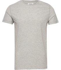 konrad slub s/s tee t-shirts short-sleeved grå gabba