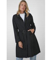 casaco sobretudo ellus fivela preto