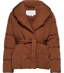 viwanas jacketsu fodrad jacka brun vila