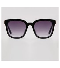 óculos de sol quadrado feminino yessica preto