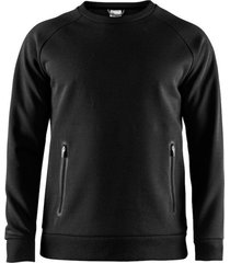 craft emotion crew sweatshirts men 042058 zwart