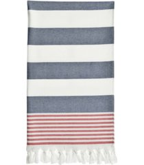 linum home patriotic pestemal beach towel bedding