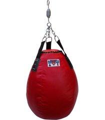 saco de pancada bola vermelho américa