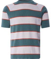 far afield newport t-shirt | sagebrush green/white sand | afkn202-sge