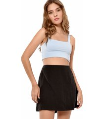 crop top azul primia dior