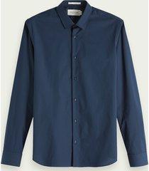 scotch & soda klassiek overhemd | relaxed fit