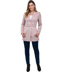 abrigo xuss 50648 rosa