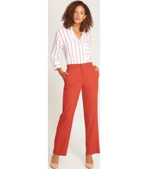 pantalón ancho formal naranja 10