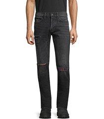 axl distress skinny jeans