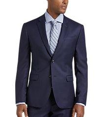 joe joseph abboud blue extreme slim fit suit separates coat