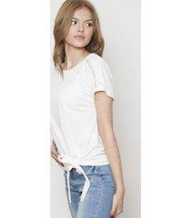 blusa manga corta blanca 609 seisceronueve