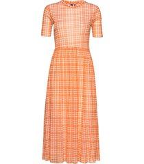 taika dress maxiklänning festklänning orange résumé