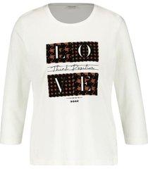 gerry weber shirt offwhite 470280-35080