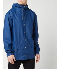 rains jacket - true blue - m-l