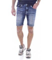 bermuda jean issu de matières recyclées