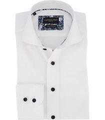 cavallaro overhemd mouwlengte 7 wit
