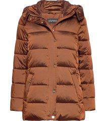 jackets outdoor woven gevoerd jack bruin esprit collection