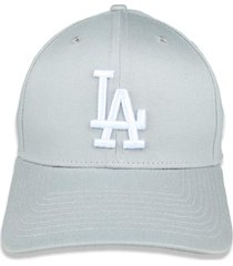boné new era 3930 hc los angeles dodgers aba curva cinza