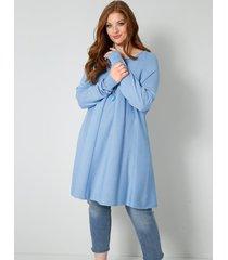 trui sara lindholm jeansblauw