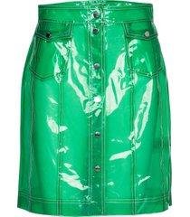 2nd carmen kort kjol grön 2ndday
