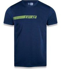 camiseta new era neon id tech masculina