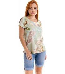 blusa kassis modas feminina - feminino