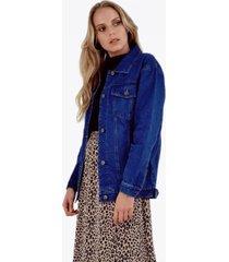 chaqueta maría azul jacinta tienda