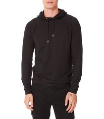 men's good man brand legend slim fit pullover hoodie, size medium - black