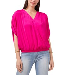 vince camuto tie-back rumpled top