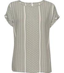 sc-italy blouses short-sleeved grön soyaconcept