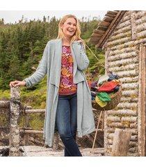 seasonless cabled cardigan sweater