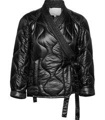 utility ripstop nylon kimono jacket outerwear jackets utility jackets svart 3.1 phillip lim