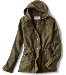 linen/cotton ramble jacket