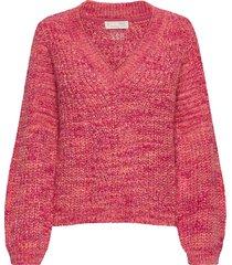 tilda sweater stickad tröja rosa odd molly