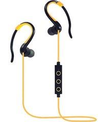 audífonos bluetooth estéreo hd manos libres deportivos, bt-008 audifonos bluetooth manos libres  inalámbrico auriculares deportivos corriendo en los auriculares auriculares manos libres (amarillo)