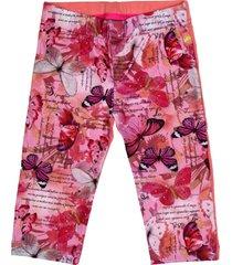 pantalón multicolor cante pido mariposas