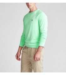 polo ralph lauren men's cotton spa terry sweatshirt