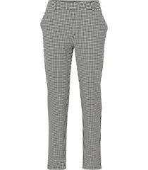 byxor vmmaya mr loose bw check pant
