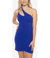 b darlin juniors' one-shoulder bodycon dress