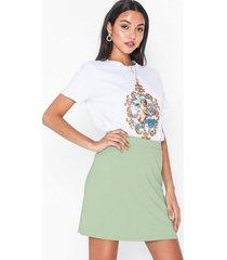 nly trend my perfect a line skirt minikjolar ljus grön