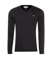 t-shirt masculina regular fit - preto