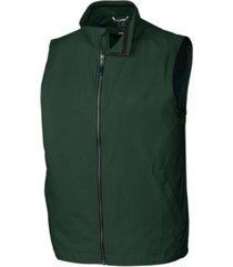 cutter & buck men's big & tall nine iron full zip vest