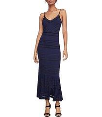 fringe-trimmed maxi dress