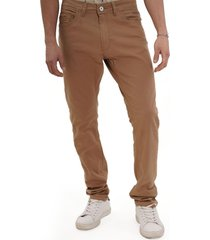 pantalon de sarga cafe gangster