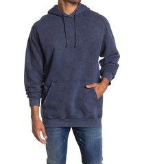 lira clothing vintage wash unisex sweatshirt, size x-small - blue