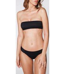 calzedonia indonesia bandeau bikini top woman black size 1