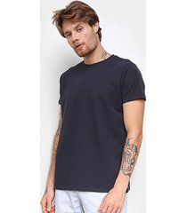 camiseta foxton piquet pima masculina - masculino