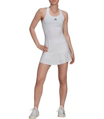 women's adidas racerback primgreen tennis dress